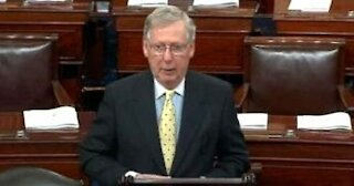 RINO Mitch McConnell Still Wants Trump Held 'CRIMINALLY' Liable!