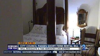 City council passes short-term rental bill