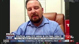 23ABC political analysts weigh in on final presidential debate