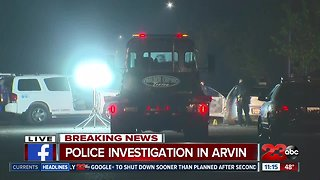 Arvin Police investigating deadly shooting on Langford Avenue