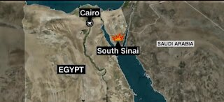 Six Americans killed in helicopter crash in Egypt