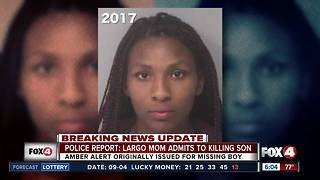 Mom charged with murder in case of missing son