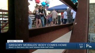 Soldiers Body Returns Home