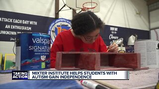 Mixter Institute helps students with autism gain independence.