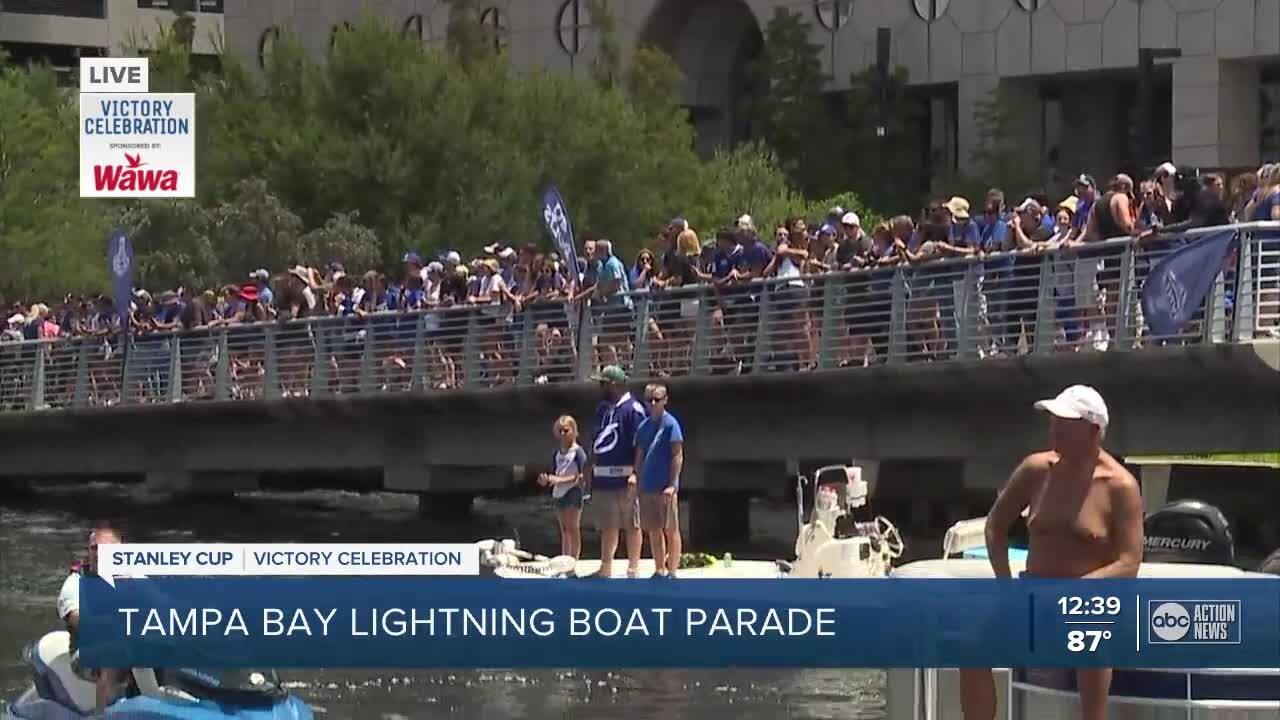 Tampa Bay Lightning Boat Parade Pt. 3