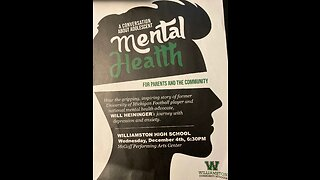Local School Takes On Mental Health With Students and Parents