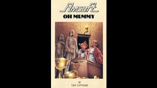 oh mummy Amstrad Cpc 464 Review