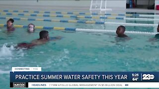 Practice summer water safety this year