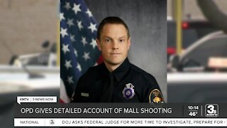 Omaha Police detail shooting of officer at Westroads Mall