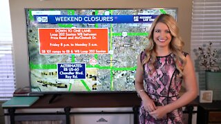 Weekend construction (September 25-28): Closures on I-17, Loop 101 and more