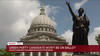 Wisconsin Supreme Court rejects Green bid for ballot access