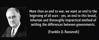 Franklin D Roosevelt Tried to Warn Us