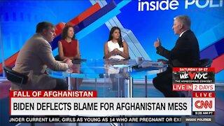 A CNN panel criticizes Biden's excuses regarding Afghanistan