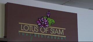 Lotus of Siam temporarily closing