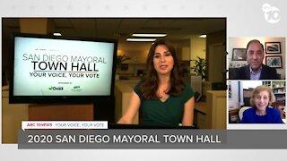 San Diego Mayoral candidates Barbara Bry, Todd Gloria debate issues ahead of November election