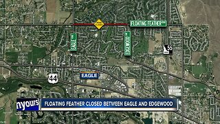 ACHD: Water main break prompts crews to shut down north Eagle road until next week
