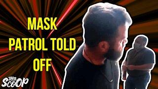 Canadian Mask Enforcers Forced To Leave Restaurant