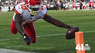 JoCo DA: No charges filed against Chiefs WR Tyreek Hill