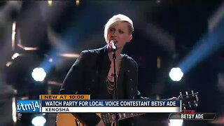 Kenosha's Betsy Ade performs in 'The Voice' top 24