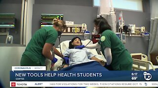 New tools help health students during Pandemic