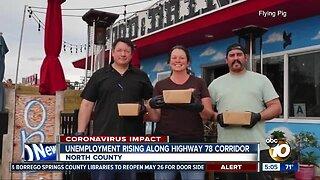 Unemployment rising along Highway 78 Corridor