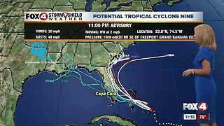 Tropical Storm Likely by Saturday