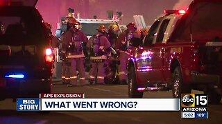 APS explosion investigation