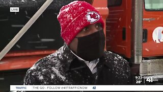 KCMO Mayor Quinton Lucas provides update on snow response