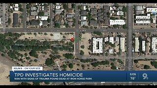 Police: Man killed at Iron Horse Park
