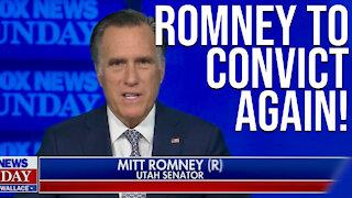 Mitt Romney to Convict Again
