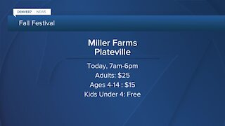 Miller Farms' fall festival starts today