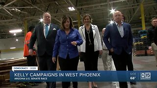 Mark Kelly campaign underway in west Phoenix