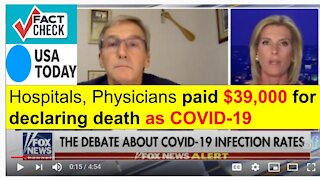 Dr. Scott Jensen With Laura Ingraham - questions CDC guidelines skewing High COVID Numbers