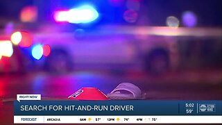 Teen in critical condition after hit-and-run crash in Tampa