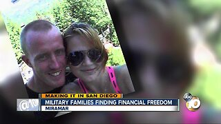Nonprofit helping military families find financial freedom