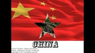 Bandeiras e fotos dos países do mundo: China [Frases e Poemas]