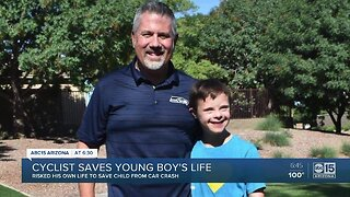 Good samaritan saves special needs child