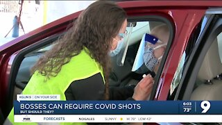 Can your boss require you to take a COVID shot?