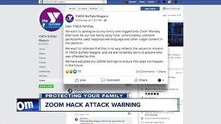 Zoom hack attack warning