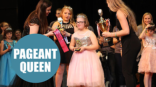 Teenager with Down Syndrome crowned Miss Amazing America