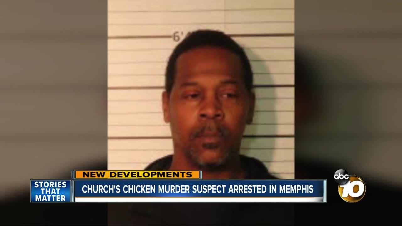 Church's Chicken murder suspect arrested in Memphis