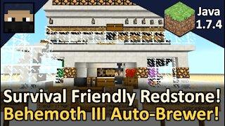 Behemoth III Auto-Brewer! Minecraft Java 1.7.4
