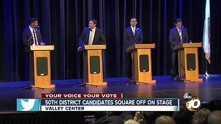 50th District candidates square off on stage