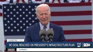 No deal reached on President Biden's infrastructure plan