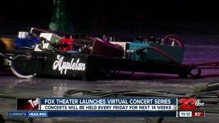 Fox theater kicks off first ever virtual concert series