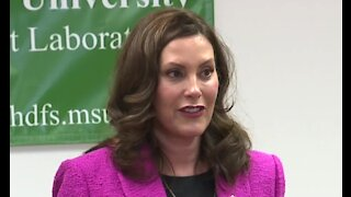 Governor Gretchen Whitmer calls for funding to expand free preschool programs