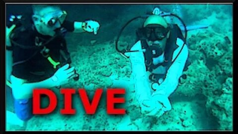 Scuba Diving Rocks | Cancun Mexico