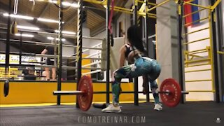 ANOTHER TYPICAL DAY IN RUSSIAN FEMALE FITNESS