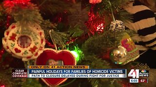 Painful holidays for families of homicide victims