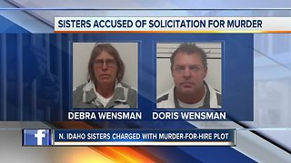 North Idaho sisters charged with murder-for-hire plot
